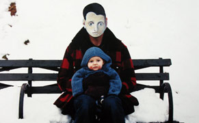 "Aram Jibilian, ""Gorky and the Son he Never Had,"" part of the Blind Dates exhibition"