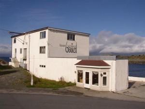 Henningsvær's caviar factory-turned-art gallery