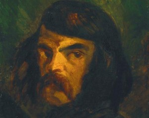 """""""Portrait of a Man"""" - Delacroix or Sickert?"""
