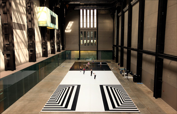 Michael Clark Company in the Tate turbine hall